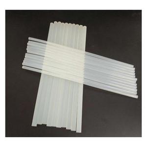 7mm*100mm 11mm*300mm 10 sizes hot melt gun glue sticks plastic transparent sticks for glue gun compatible with most glue guns