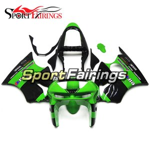 Motorycle Complete Fairings For Kawasaki ZX6R 1998 1999 ZX 6R 98 99 ABS Plastic Compression Bodywork Green Black Body Covers