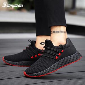 Damyuan 2019 New Fashion Classic Men Shoes Flyweather Scarpe casual da volo Scarpe comode Comunicata Aspirabili Uomini Vulcanize