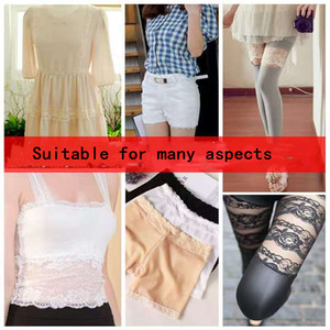 Color Lace Ribbon Hollow Lace Dress Skirt Garment Decoration Fabric Black White Material Accessories DIY