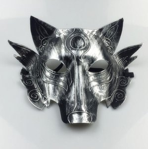Costume Horreur LXL689-1 Wolves Masque Enfants Masquerade Masques Partie Décoration Halloween Épais Adulte Wolf Ndfut