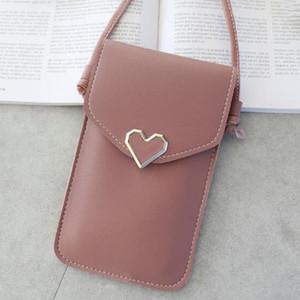 Universal Leather Cell Phone Bag Shoulder Pocket Wallet Pouch Case Neck Strap For For Lenovo Hot Sale