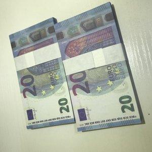 Copie réaliste 2021 Copie LE20-27 20 Euro Bar accessoires Enfants Faux PROP PROPUB Cadeau Ticket Billet Billet Billet Billets Lowxv