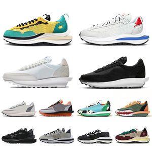 sapatos nike sacai VaporWaffle Vapor Waffle Pegasus Vaporfly Fragment robusto ldv ld pegasus homens mulheres tênis de corrida triplos mens formadores tênis esportivos corredores