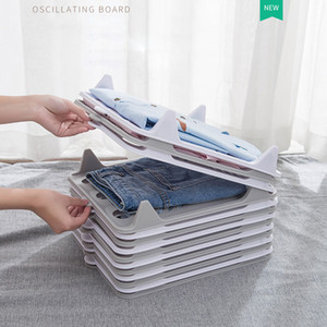 5 Pack Durable Stackable Shirt Receipt Board Shirt Folder File Organizer Clothes T Shirt Closet Organizer Clothing Dividers J1207