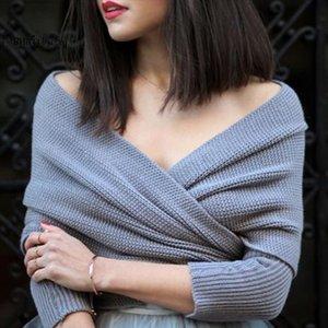 Donne pullover Basic RIBS BASSALE CASSAGGIO CASH CROSS IN CROSS IN CROSSA MAGLIONE Femmina Solido con scollo a V Essenziale manica lunga manica lunga maglioni