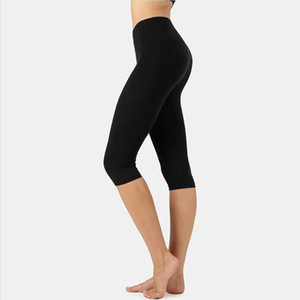 Womens Leggings Casual Sport Gym Leggings High Waist Stretch Workout Pants Trousers Exercise Training Home Wear Lady Summer