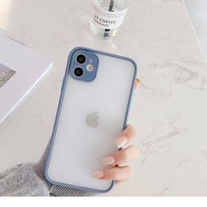 Sile Matte Bumper Phone Case For Iphone 12 11 Pro Xr X Xs Max Mini 6s 6 8 7 Plus Se2 Tra bbyBIP