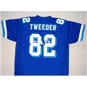 3740 Tweder # 82 Varsity Blues Movie New 3740 Blue Blue Размер Ретро Колледж Джерси S-4XL Или пользовательское Имя или Номер Джерси
