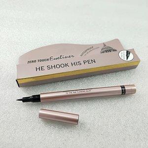 Cero para el delineador de ojos táctil innovador cartride DISEÑO a la tinta que fluye sedoso 24 horas a prueba de agua a prueba de agua de color duradero de larga duración cargado