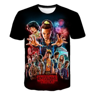2020 3D Stranger Things boys New Brand O-Neck T Shirt Men Funny T-shirt casual Summer kids clothes Streetwear Tops Tees Q1203