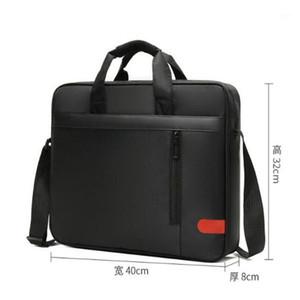 حقيبة الرجال حقيبة يد سعة كبيرة المحمولة رقيقة سوبر متعددة الوظائف حجم كبير 15.6 بوصة حقائب كمبيوتر محمول Macbook Y521