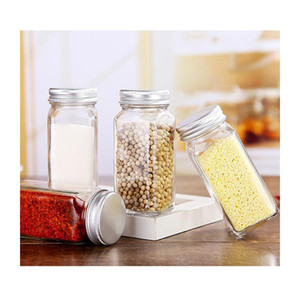 Spice Jars Kitchen Organizer Storage Holder Container Glass Seasoning Bottles With Cover Lids Camping Conn jllFoL yummy_shop