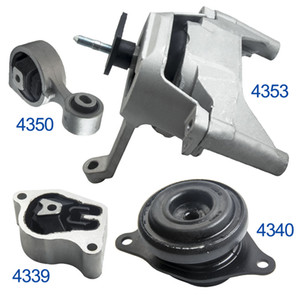 4Pcs Engine Motor & Transmission Mount Set Fits For Nissan Altima 2.5L 2007-2012 For Auto Trans A4353 A4339 A4350 A4340 11360-JA000