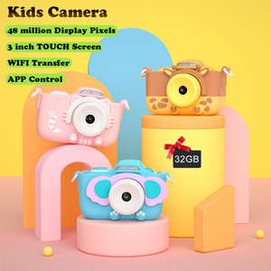 Digital Cameras 4K HD Children's Camera With 3 Inch Touch Screen 42MP WIFI APP For Girl Children Gift Kids Eduacation Toys