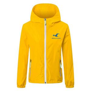 haugesund soccer Windbreaker Jackets Solid Color Windbreaker Zipper Hooded Jacket Luminous Coat sports Casual Hip Hop Men's Jackets