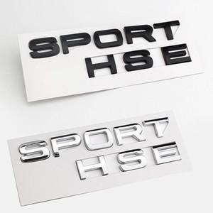 3d رائعة الرياضة hse الخلفية جذع ديكور تريم ملصقا ABS ل Land Rover Rover Range Evoque Velar Tailgate Logo Logo