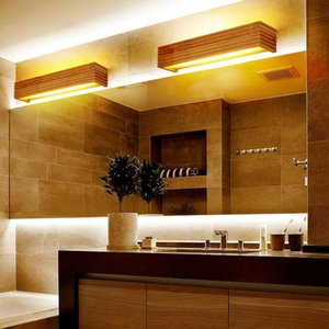 Modern Japan Style Led Oak wooden Wall Lamp Lights Sconce for Bedroom bathroom Home Wall Sconce solid wood light WY428