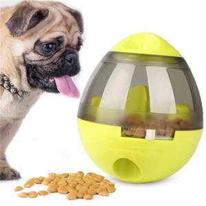 Interactive Pet Toy Tumbler Leakage Food Treat Ball Cat Dog Slow Eating Fun Bowl Puppy Training Feeder Kitten Feeding Toy