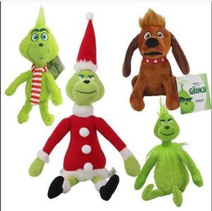 """Haute Qualité 100% coton 11.8 """"30cm Comment le Grinch a volé Christmas De Noël Peluche Peluche Animaux pour enfants Cadeaux de vacances en gros"""