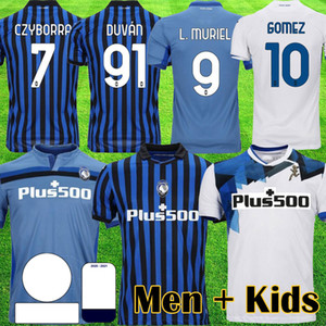 2021 Atalanta B.C. Fútbol Jersey Gómez 2020 21 L.Muriel Ilicic de Roon Duvan Muriel Atalanta BC MAGLIA DA CALCIO HOMBRES KIT DE NIÑOS UNIFORME