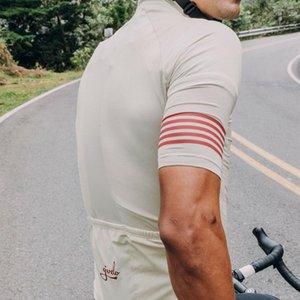 그리즐리 사이클링 저지 정장 간단한 사이클 착용 클래식 MTB 도로 자전거 타기 의류 반팔 저지 및 턱받이 반바지