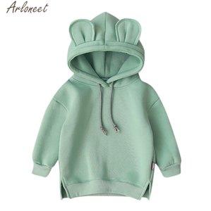 ARLONEET Toddler Baby Kids Boy Girl Cartoon 3D Ear Kids Hoodies Cute Baby Girl Sweatshirts x27s Sweatshirt For Boy
