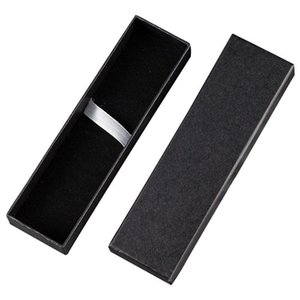 17.7*4.8*2.4cm New Fashion Pen Display Packaging Box Jewelry Packing Case Hard Cardboard Paper Gift Boxes Free Shipping