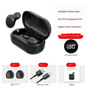 CIPW новая коробка QCY с Bluetooth наушники Mini Mic Mic Wireless спортивные наушники SHOOM 5.0 Гарнитура и зарядка T1C BT Отмена наушников TWS