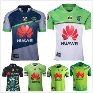 2020 Noix Jersey NRL Rugby League Jerseys 2019 Canberra Assaulter Super Jersey de rugby Taille: S-3XL