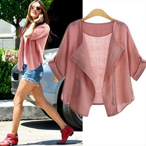 Large Size XL 5XL Fashion Women Summer Autumn Sun protective Clothing Blouse Blousa Casual Half Sleeve Cardigan Blouse feminine