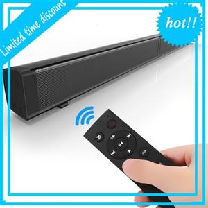 5PCS LP-09 Sound Bar Subwoof Bluetooth Home TV Echo Wall Soundbar U-disk Pling Speaker Wall-mounted Remote Control