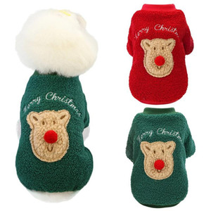 Dog Clothes Winter Warm Pet Dog Jacket Coat Puppy Christmas Party Clothing For Small Medium Dogs Puppy Fashion Outfit