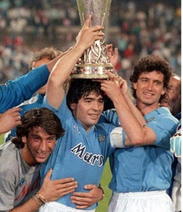 1988/1989 Top 1991/1993 1987/1988 Nápoles Maradona 10 Retro Camisetas Personalizado Uniforme Napoli Soccer Jersey Tailândia Camisa de futebol Tailândia