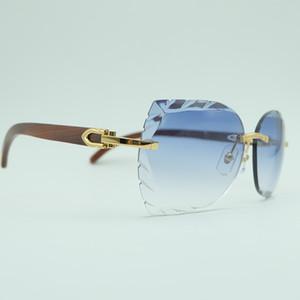 Oversized Men Women Square Sunglass Brand Designer Vintage Beach Shades Party Eyewear Carter Sunglasses