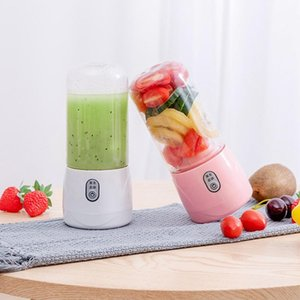 Portable Electric Extractors Household USB Rechargeable Gift Juicer Cup Fruit Smoothie Maker Blender Machine Bottle DHF2950