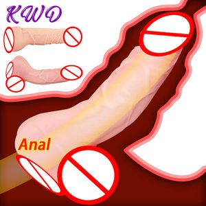 Realistic Dildo Real Pussy Vagina Fake Ass Gay Sex Toys for Men Masturbator Anal Plug Cock Sleeve Penis Enlarger Sleeve 201212