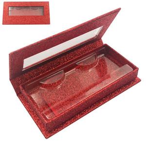 Magnetic Lashes Box with eyelash tray 3D Mink Eyelashes empty Boxes False Eyelashes Packaging Case free logo print