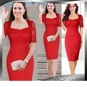 Knee-length Solid Short Lace Square Collar Autumn Promotion Time-limited Vestidos De Fiesta Office Dress Charm Women Dress