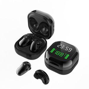 1 шт. S6 PLUS TWS Наушники Bluetooth 5.1 Беспроводные наушники с микрофоном Timepower Digital Dispaly спортивные гарнитуры Музыкальные наушники