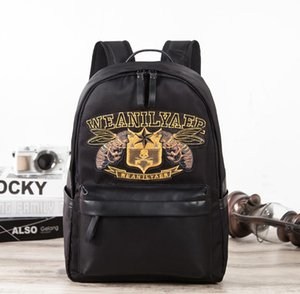 2021 New trend backpack male college style Korean fashion retro casual men's backpack school bag