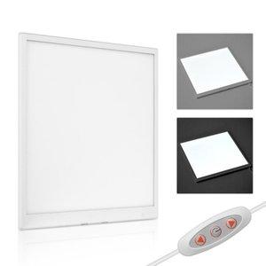 40 * 40 سنتيمتر / 16 * 16in التصوير الفوتوغرافي ظلال خالية من الصمام الخفيفة ضوء لوحة مصباح لوحة Softbox أسفل ضوء USB قابل للتعديل سطوع