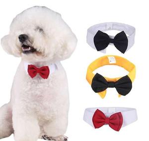 Gentleman Dog Bow Ties Pet Adjustable Cat Neckties Butterfly Tie Necktie Collar Decor Accessories Dog Apparel jllwOjC ffshop2001