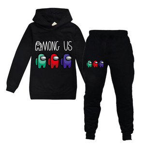 New Among Us Game Set For Big Boy Girl Clothes Fall Winter Kid 3D Print Sweatshirt+Sport Pant 2pc Outfit Children Hoodies Outfit