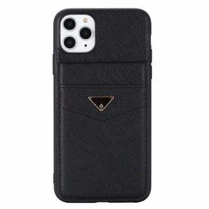 New Fashion Designer Case Telefono per iPhone 12 11 Pro X XS Max XR 8 7 SE2 Samsung Galaxy S20 S10 Nota 20 10 Casi tascabili in pelle di lusso