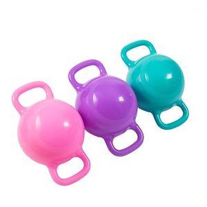Woman Yoga Fitness Kettle Bell Double Handles Soft Kettlebell Sports Equipment Pilates Body Shaping Dumbbells1