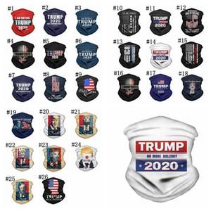 Face Masks American President Trump Election Bandana Dustproof Outdoor Magic Cycling Scarf Headwear Party Mask sea shipping DHD1616