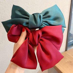 Coreano Big Butterfly Accessories Fairy Children's Clip Tocado Super Largo Cuerda Red Red