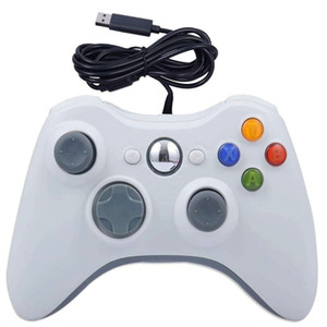 لعبة تحكم ساخنة ل Xbox 360 Gamepad 5 ألوان USB السلكية الكمبيوتر ل Xbox 360 Joypad Joystick التبعي لأجهزة الكمبيوتر المحمول الكمبيوتر DHL