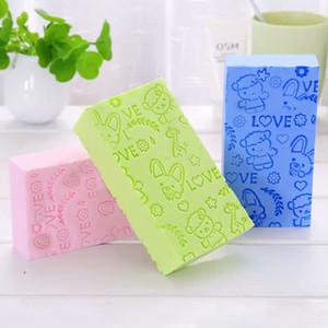 Wholesale New Arrival Sponge Soft PVA Baby Shower Sponge Baby Cartoon Bath Rub Sponge Toddler Kids Rub Ash Scrub